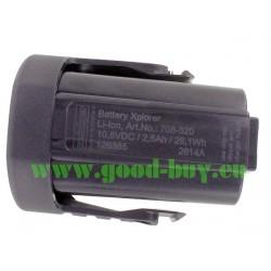 Batterie Li-ion pour Xplorer