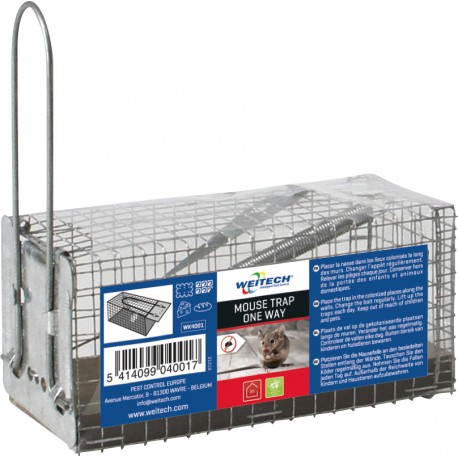 WEITECH   MOUSE TRAP ONE WAY