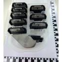Heiniger | Set de sabots pour OPAL (9 pcs)